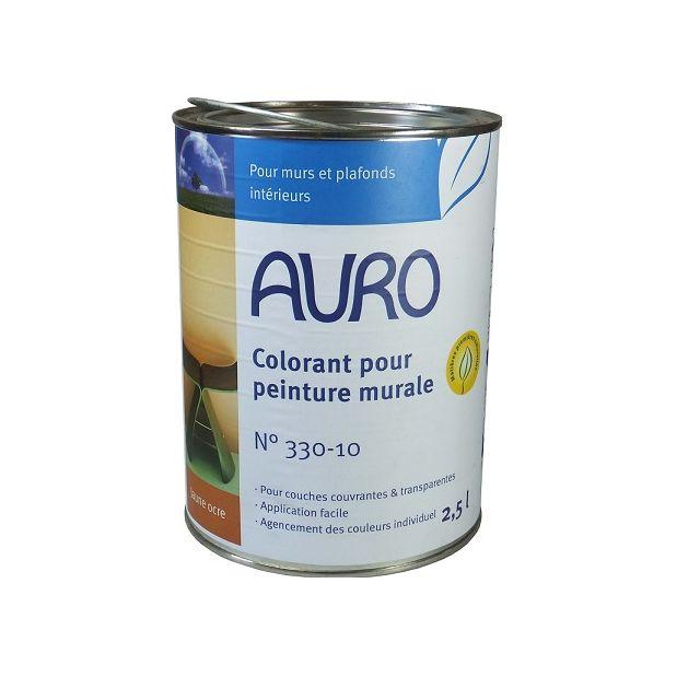 Auro   Auro   Colorant Pour Peinture Murale (teinte Jaune Ocre) 2.5 L