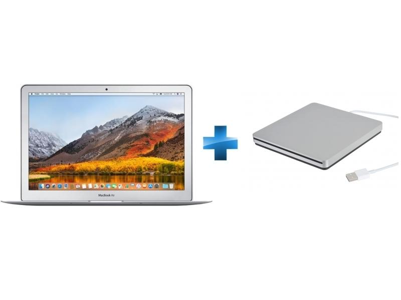 MacBook Air 13 - 128 Go - MQD32FN/A - Argent + Graveur DVD USB