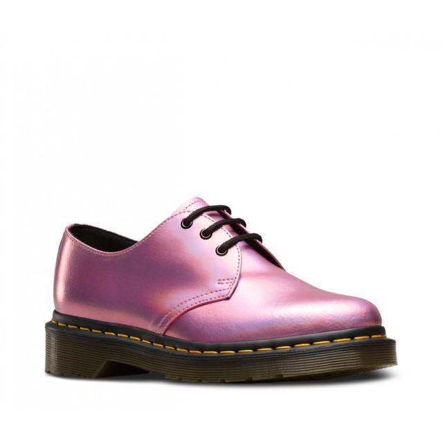 8bb536f27fa Dr. Martens - Chaussure de ville Dr Martens 1461 Iced Metallic 23552690