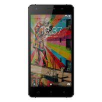 Konrow - Link 50 - Smartphone 4G Lte - Android 6.0 - Ecran 5'' - 8Go - Double Sim - Noir