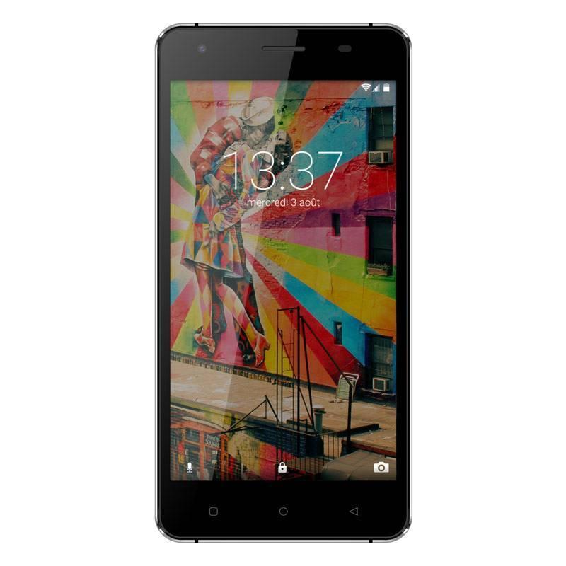 Link 50 - Smartphone 4G Lte - Android 6.0 - Ecran 5'' - 8Go - Double Sim - Noir