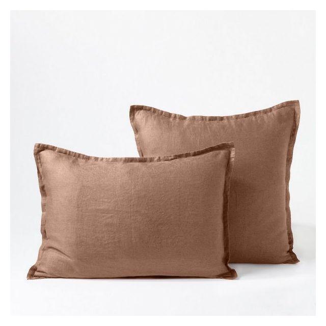 I Fil Home Taie doreiller 100/% Percale de Coton Uni 50 x 70 cm Rose