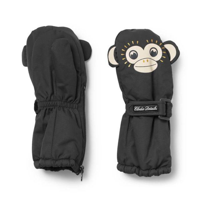 5bd4d44ad5d4 Elodie Details - Moufles bébé 12-36m Playful Pepe noir - pas cher Achat   Vente  Casquettes, bonnets, chapeaux - RueDuCommerce
