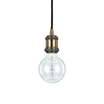Boutica-design Suspension Frida Laiton vieilli 1x60W - Ideal Lux - 123851