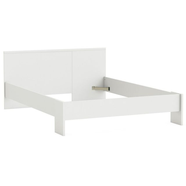 DEMEYERE Lit Marty - 140 x 200 cm - Blanc perle