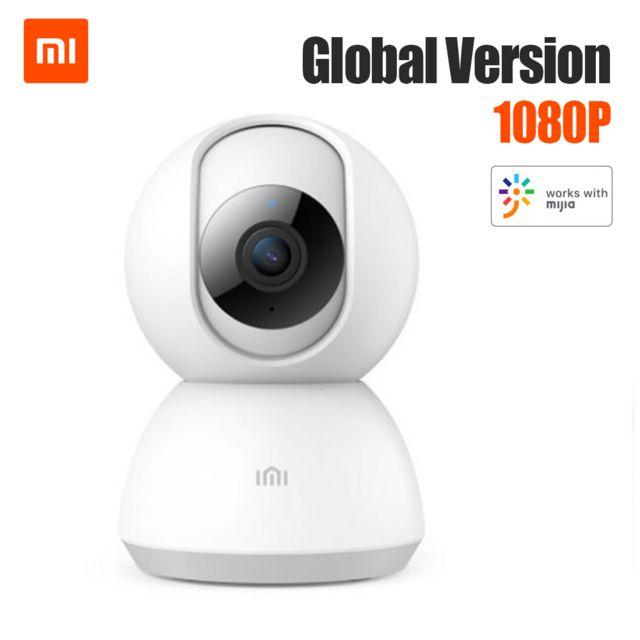 Generic Version globale Xiaomi Imilab Caméra intelligente Vision nocturne infrarouge Panoramique 1080 degrés Al 1080p Al Humanoi