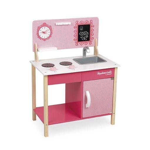 janod cuisine en bois ma premi re cuisine mademoiselle pas cher achat vente cuisine et. Black Bedroom Furniture Sets. Home Design Ideas