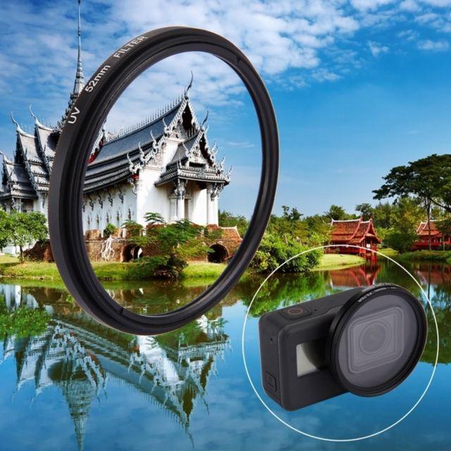 Wewoo - Filtre pour GoPro Hero5 52mm 3 dans 1 rond de lentille Uv de cercle 06693be93498