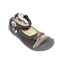 Bopy - Ballerines fille chaussures fille Cuir marron pointure 33