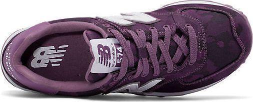 basket femme new balance violet