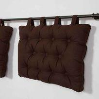 Street Home - Coussin tête de lit à passant 100% coton 50x70cm Star
