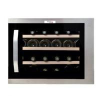 Vinolux - Cave à vin encastrable meuble 45 cm, 24 bouteilles, inox - Vxem45X