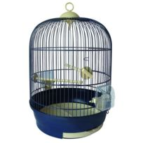 Tyrol - Cage ronde Lily équipée 34x52cm - Pour oiseau