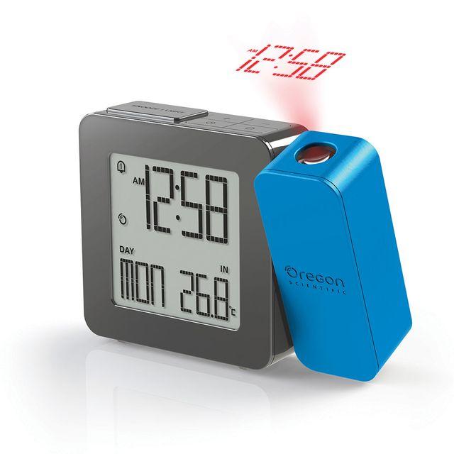 1c4da6c02a Oregon Scientific - Réveil avec projection de l'heure et température  intérieure ...