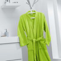 d14ff4f4eae00 Peignoir femme vert anis - Achat Peignoir femme vert anis pas cher ...