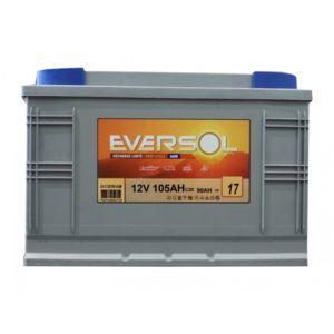 sellande batterie a decharge lente 12v 105ah agm eversol pas cher achat vente batteries. Black Bedroom Furniture Sets. Home Design Ideas