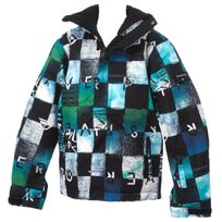 Quiksilver - Blouson de ski Mission printed jacket jr Blanc 25421