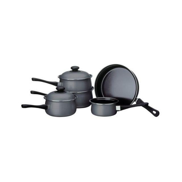 Premier Housewares - Batterie de cuisine Argent 5 pièces
