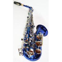 Cherrystone - Saxophone Alto Bleu & Argenté Mib/Fa & Etui rigide
