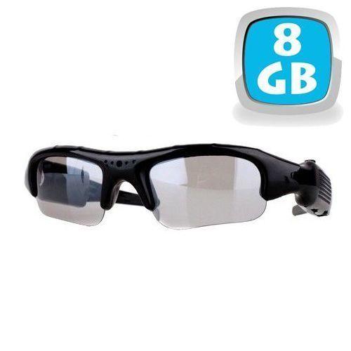 Yonis Lunettes camera espion mini appareil photo caché Usb Micro Sd 8 Go Ces lunettes caméra espion sont équipées d'une minuscule caméra, d'un appareil photo et d'un microphone.Fournies avec une carte mémoire micro Sd 8 Go.Résolution vidéo: 640x480 pixels