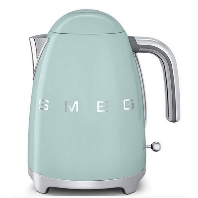 SMEG bouilloire sans fil 1,7l 2400w vert d'eau - klf01pgeu