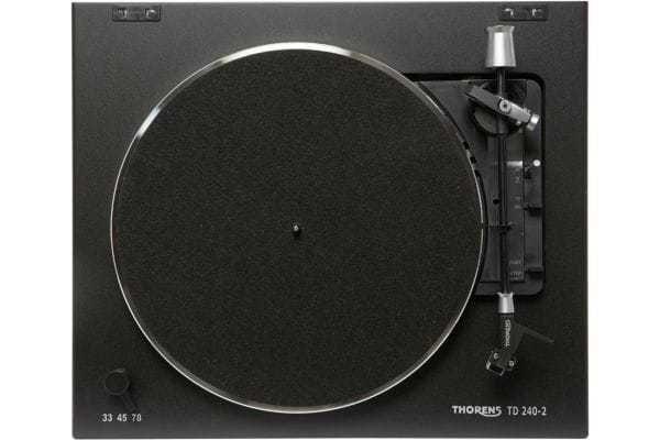 THORENS - Platine TD TD 240-2 Noir Mate