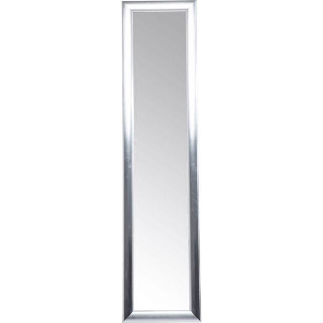 Karedesign - Miroir sur pied Modern Living argenté 170x40cm Kare ...