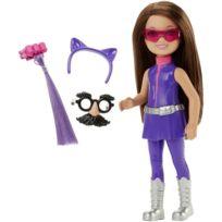 Mattel - Poupée Barbie Junior : Poupée Agent secret Tenue violette