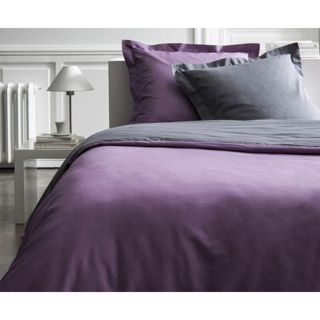 today parure de couette coton peign 78 fils 260x240 premium figue canon de fusil 260cm x. Black Bedroom Furniture Sets. Home Design Ideas