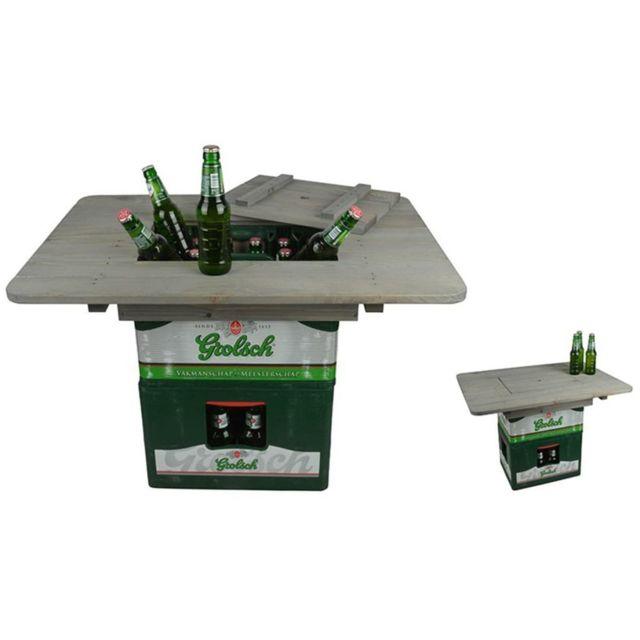 ESSCHERT DESIGN Plateau de table pour caisse de bière NG76