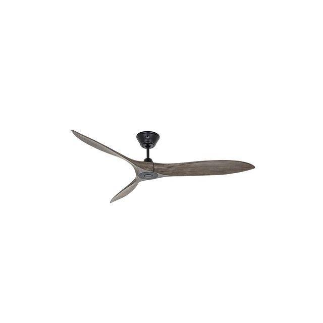 boutica design ventilateur de plafond eco airscrew 152cm noir bois massif casafan pas cher. Black Bedroom Furniture Sets. Home Design Ideas