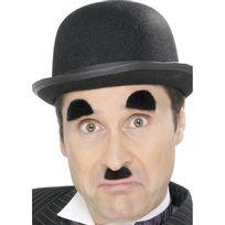 Smiffy'S - Moustache de charlie chaplin