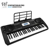 Ws - Synthetiseur electrique Clavier piano 54 touches Pro