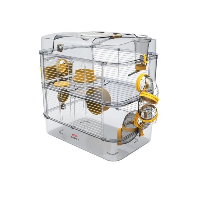Zolux Cage Rody 3 Duo Banane Pour Hamster