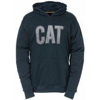 Caterpillar - Sweat à capuche bleu marine - taille Xl - Flash hoodie