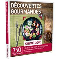 Smartbox - Découvertes gourmandes - 750 dégustations : une découverte gourmande ou un repas ou un cours de cuisine - Coffret Cadeau