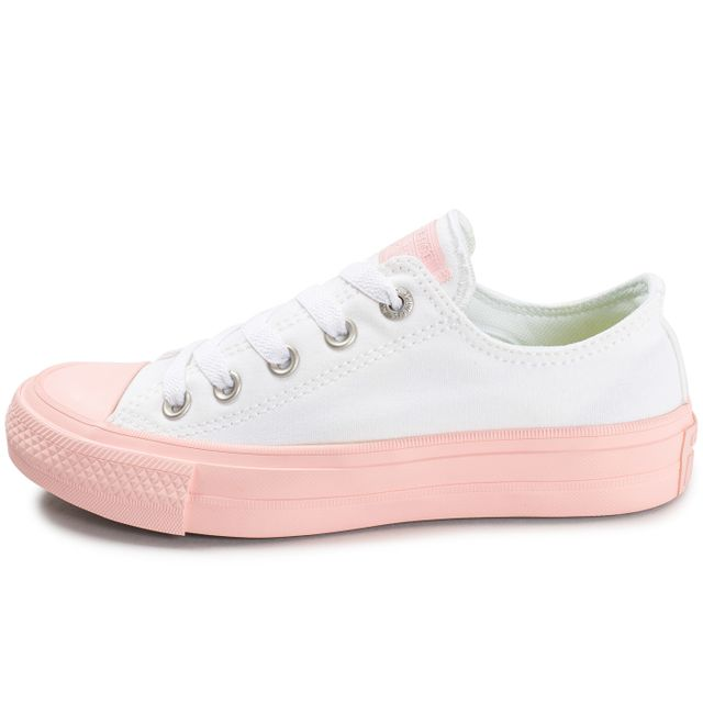 5bd8ee64834 best basket converse chuck taylor all star dainty mixte 658fc bd6f9  store converse  chuck taylor all star 2 ox w blanche et rose 37 pas cher achat