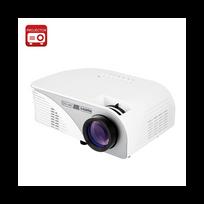 Auto-hightech - Mini projecteur vidéo Lcd 1200 Lumens 800x480 Résolution 16: 9 affichage 4 pouce