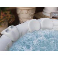 Spark - Repose têtes x2 + 1 double support verre pour spa gonflable Coloris Noir