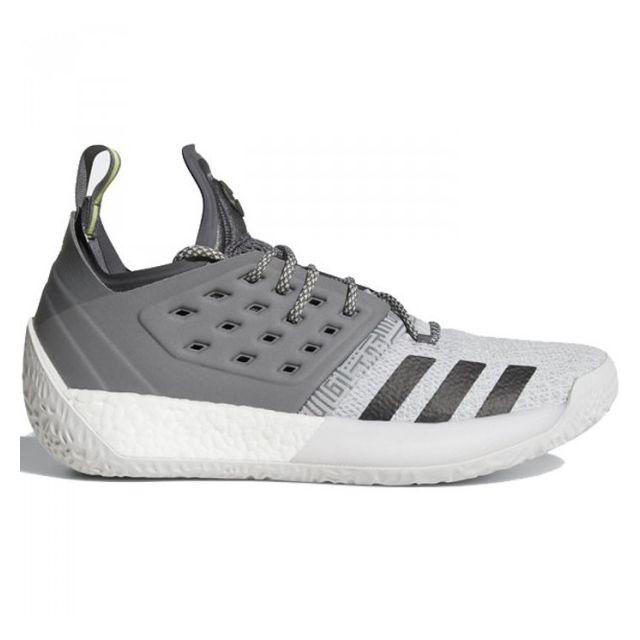 b1b0fb6b7b7 Adidas - Chaussure de Basketball adidas James Harden Vol.2 Concrete gris  pour homme Pointure