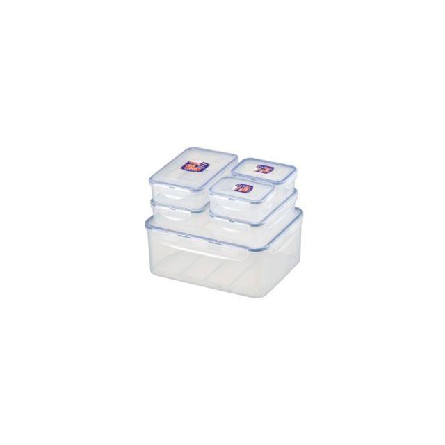 Lock & Lock 6 boîtes de conservation sans Bpa
