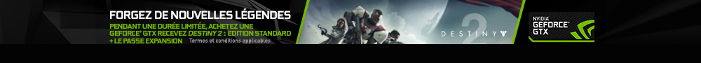 [COMPO] NVIDIA - Destiny 2 + pass expansion