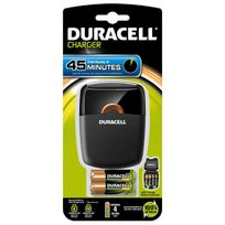 Duracell - chargeur de piles avec 2 piles aa et 2 piles aaa - 11452