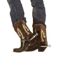 Widmann - Eperons cowboy argent x2