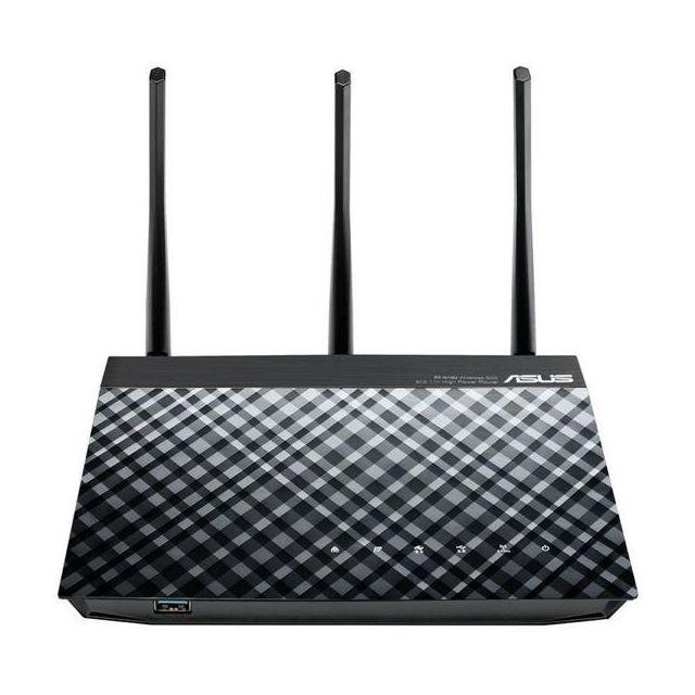 Totalcadeau Routeur Rt-n18U 90IG00L0-BM3G2 Wifi N600 4P 1 x Usb 2.0 1 x Usb 3.0
