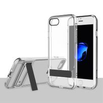 Rock - Coque Royce Series Clear Stand transparent iPhone 7