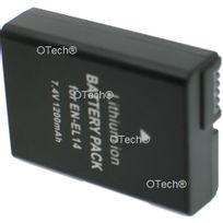 Otech - Batterie Appareil Photo pour Nikon En-el14